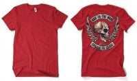 Bad To The Bone Backprinted T-Shirt