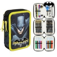 Triple Pencil Case Batman 78667