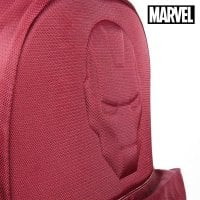 School Bag Iron man The Avengers Maroon 2