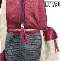 School Bag Iron man The Avengers Maroon 6
