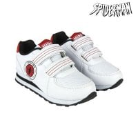 Sports Shoes for Kids Spiderman White