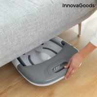 Foldable foot spa bed