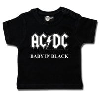 AC/DC baby T-shirt - Baby In Black