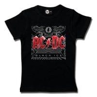 AC/DC girly kids T-shirt - Black Ice