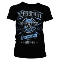 Aerosmith - Aero Force One girly t-shirt 1