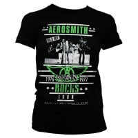 Aerosmith ROCKS Tour girly t-shirt 1