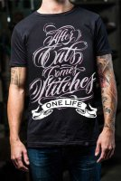 After cuts comes stitches t-shirt