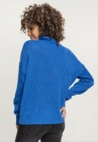 Ladies Oversize Turtleneck Sweater back
