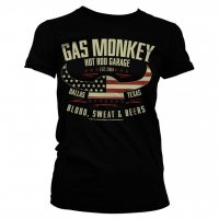 American Viking Gas Monkey Garage tjej t-shirt