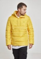Pull Over Puffer Jacket yellow