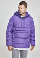 Pull Over Puffer Jacket violet