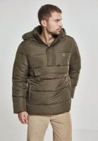 Pull Over Puffer Jacket olive