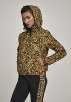 Leopard-patterned jacket lady hoodie