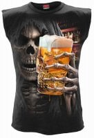 Sleeveless t-shirt Live Loud beer