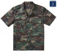 Army shirt camo woodcamo