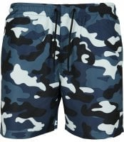 Swimshorts with blue camo 1