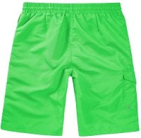 Lime Swimshorts Single Colored Back