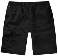 Black Swimshorts Single Colored Front