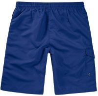 Navy Swimshorts Single Colored Back