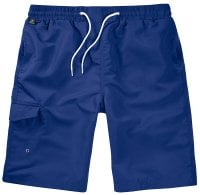 Navy Swimshorts Single Colored Front