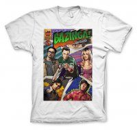 Big Bang Theory - Bazinga Comic Cover T-Shirt vit