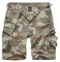 BDU ripstop shorts light woodland 1