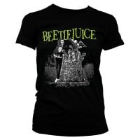 Beetlejuice headstone T-shirt girly