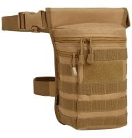 Leg bag with MOLLE system 11