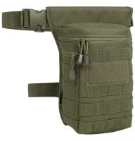 Leg bag with MOLLE system 6