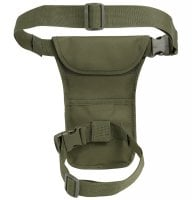 Leg bag with MOLLE system 7