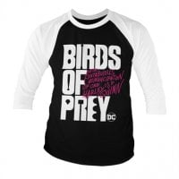 Birds Of Prey Logo Baseball 3/4 Sleeve Tee 1
