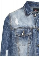 Blue denim jacket mens 4