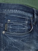Blue washed jeans slim 6