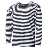 Blue-striped longsleeve men 1