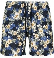 Floral bath shorts men plus size 1