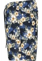 Floral bath shorts men plus size 2