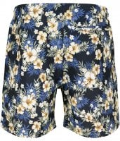 Floral bath shorts men plus size 3