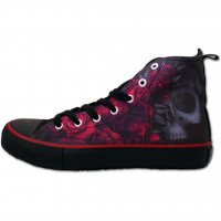 Blood rose sneakers