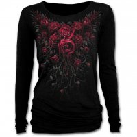Blood rose baggy longsleeve