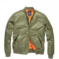 Bomberjacket men light olive