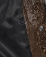 Brown leather jacket mens 3