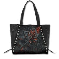 Burnt Rose handbag front