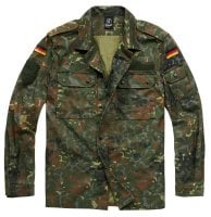 BW thin field jacket spotted camo 1