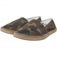 Camo canvas slipper 1