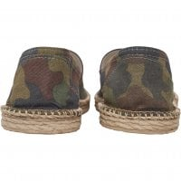 Camo canvas slipper 2