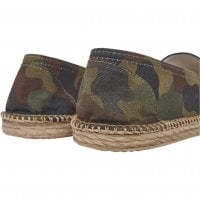 Camo canvas slipper 6