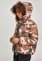 Ladies Boyfriend Camo Puffer Jacket