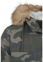 Camo parka washed look 4