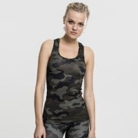 Camo training top woodcamo front
