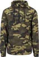 Camo Pull Over Windbreaker 13